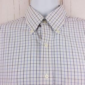 Brooks Bros. Size 16-32 Dress Shirt Button Front